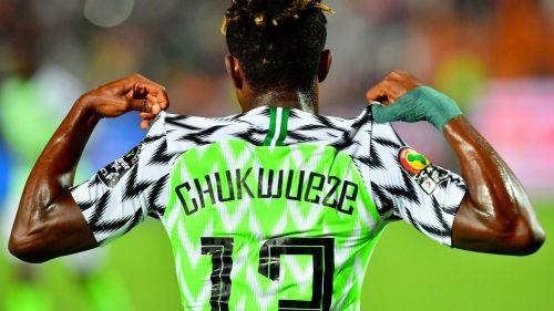 Samuel Chukwueze got the ball rolling for Nigeria's Super Eagles