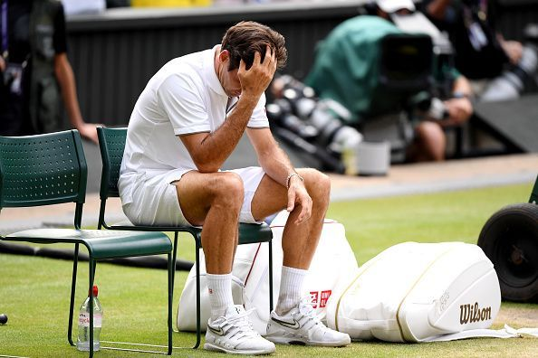 Federer reflects after being embroiled in a classic encounter, one he ultimately failed to win this time