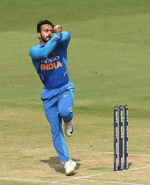 Kedar Jadhav - the bowler