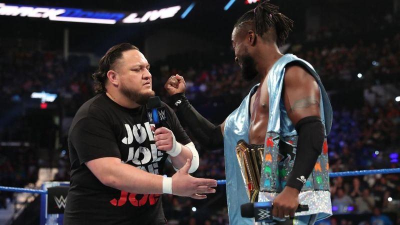 Samoa Joe and Kofi Kingston