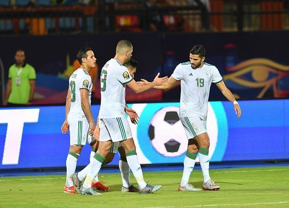 Algeria are through to the final of the Nations up