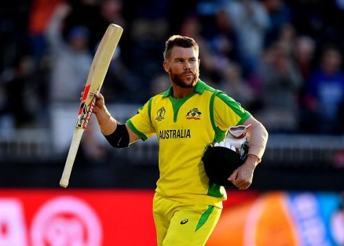 David Warner recorded the highest individual score of 166 in World Cup 2019