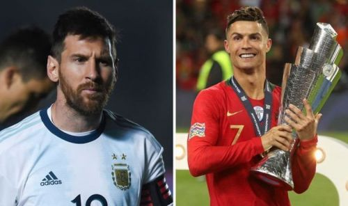 Cristiano Ronaldo's record at international level has always been better than his Argentine counterpart.