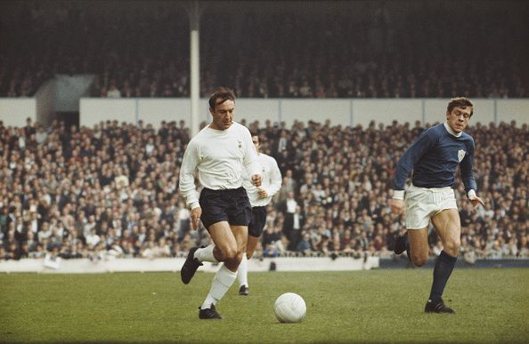 Jimmy Greaves Tottenham Hotspur v Leicester City 1968