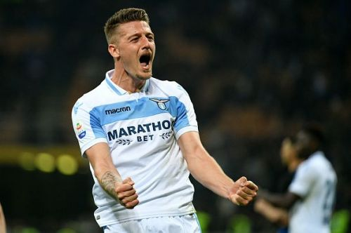 Manchester United have tabled a massive bid for Lazio's Sergej Milinkovic-Savic.