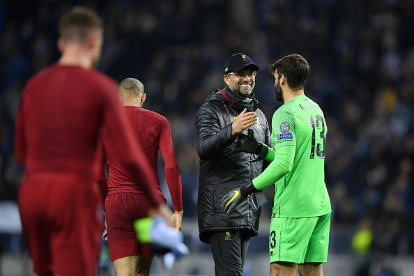 Porto v Liverpool - UEFA Champions League Quarter Final: Second Leg