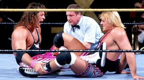 Bret and Owen Hart put on a classic at WrestleMania 10