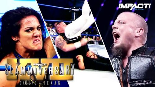 Tessa Blanchard and Sami Callihan tore the house down in Dallas TX at Impact Wrestling's 17th annual Slammiversary spectacular!