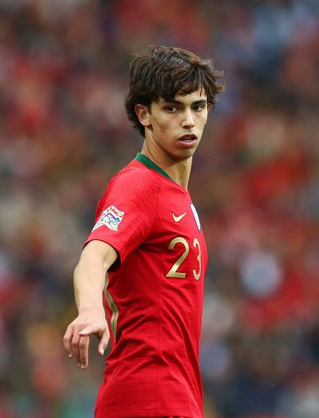 Joao Felix in action for his country in the Nations League.