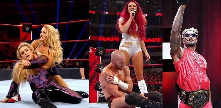 It was an interesting week for botches on Monday Night Raw
