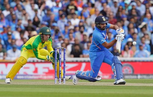 Rohit Sharma finished with five centuries
