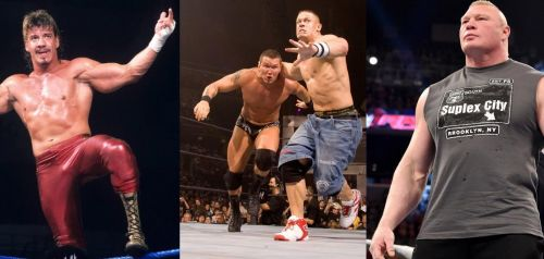 Eddie Guerrero, John Cena and even Brock Lesnar have all competed for other companies, despite being under WWE contracts.