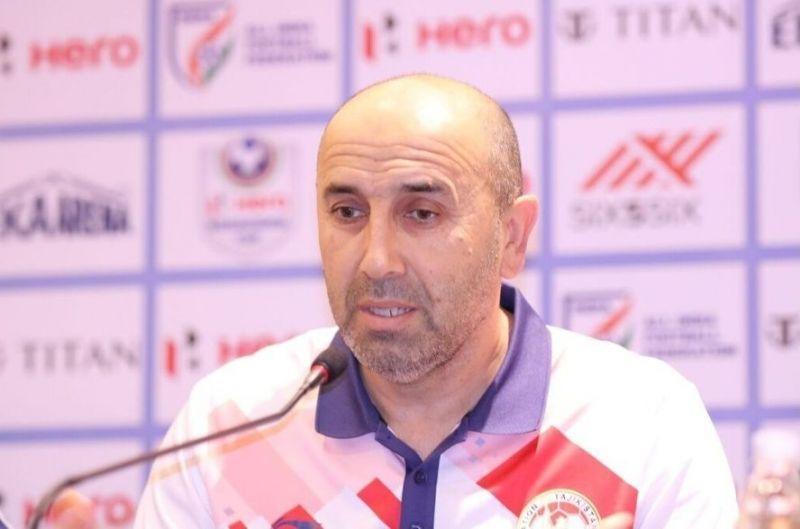 Tajikistan head coach Usmon Toshev