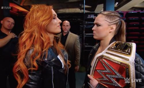 WWE are allegedly preparing for the return of Ronda Rousey