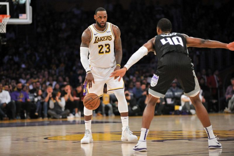 LeBron James has always been the primary ball handler for the Lakers