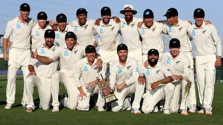 New Zealand Test won