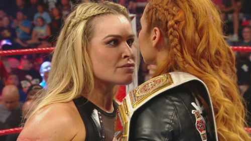 Why has WWE booked Natalya to be in this position?