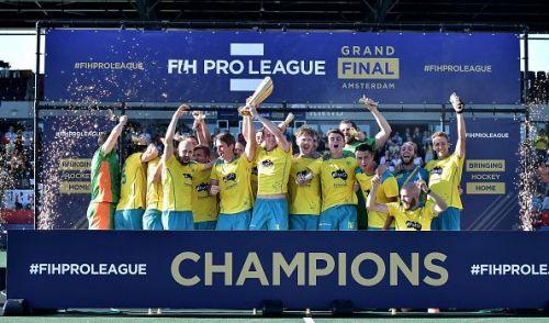 Australia beat Belgium in the Men's FIH Pro League Final