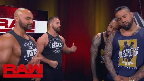 The Revival will defend their Raw tag team championships on Sunday against The Usos