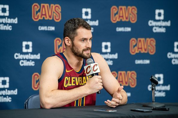 Kevin Love could be made available by the Cleveland Cavaliers as the summer progresses