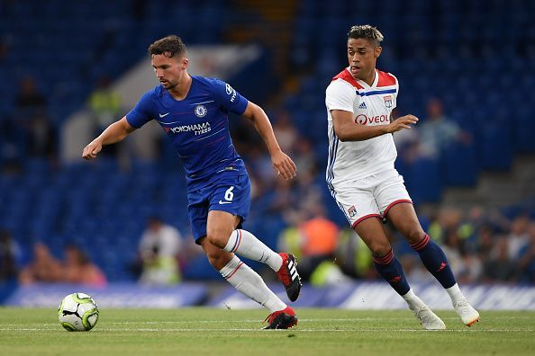 Danny Drinkwater in action