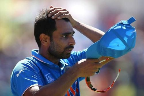 Shami made his debut against Pakistan in 2013
