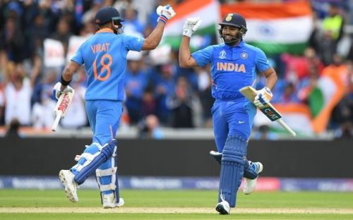 Virat Kohli and Rohit Sharma were in top form for India