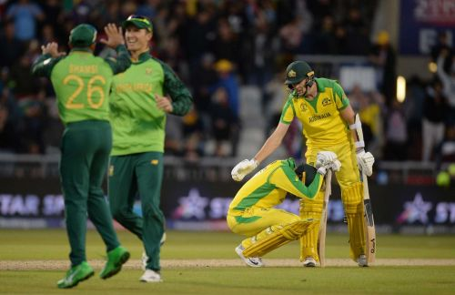 Australia won seven consecutive matches while batting first but lost their last group game while chasing