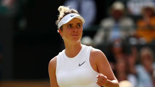 Elina Svitolina progressed into her first grand slam semi-final