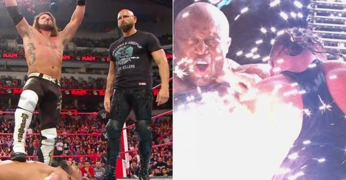 An epic episode of RAW ended with The Club reuniting