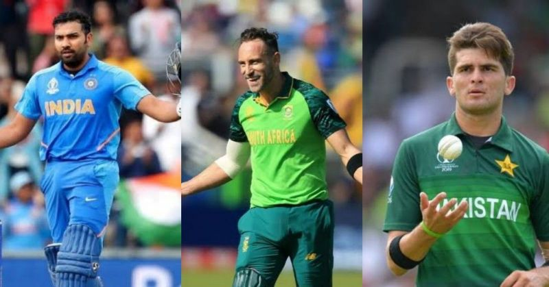 Rohit Sharma, Faf du Plessis and Shaheen Shah Afridi shone the brightest in this week