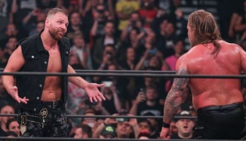 Moxley makes his shocking debut and interrupts Chris Jericho at DoN