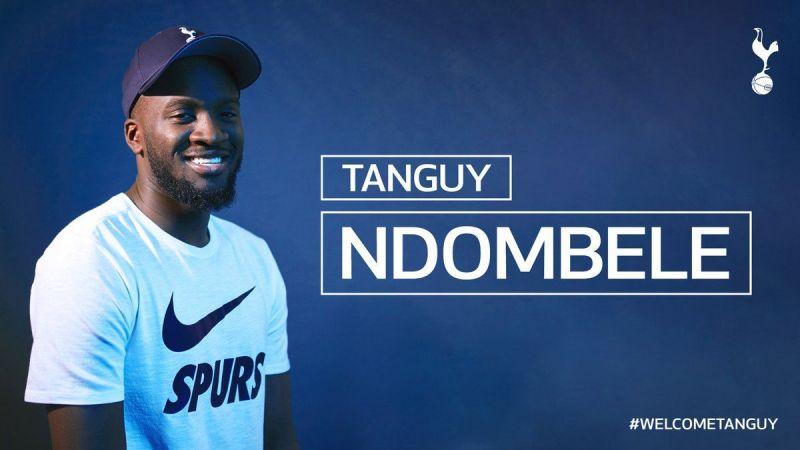 Tanguy Ndombele became Tottenham