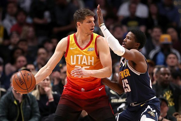 Kyle Korver has been linked with a move to the Los Angeles Lakers