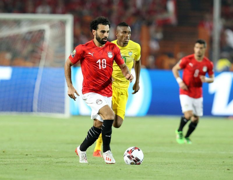 Mohamed Salah is nursing an illness ahead of Egypt