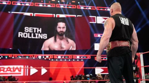 Raw revealed Lesnar's SummerSlam opponent