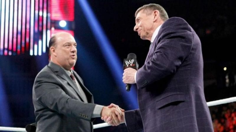 It seems like Heyman and Vince are working very closely together