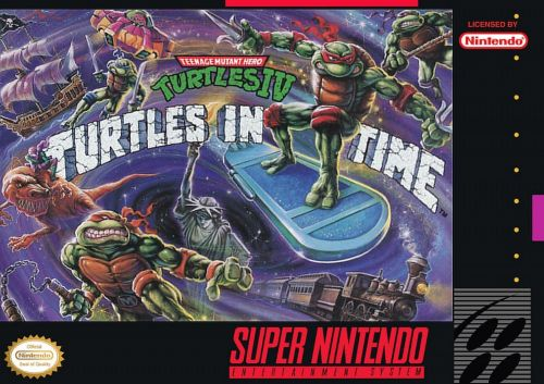 TMNT: Turtles in Time came out in 1991
