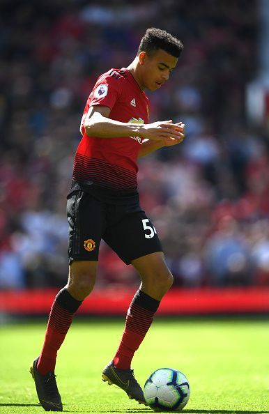 Mason Greenwood has drawn comparisons with Robin Van Persie