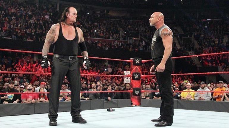 The Undertaker and Goldberg