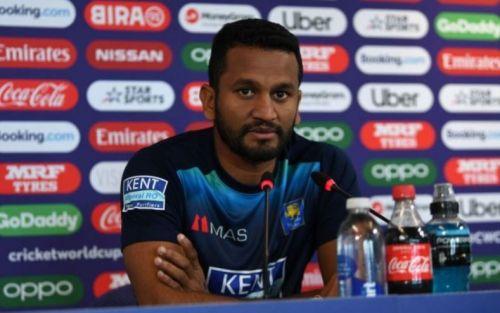 भारत से मैच हारने के बाद श्रीलंकाई कप्तान दिमुथ करुणारत्ने ने टीम की हार पर सफाई दी।