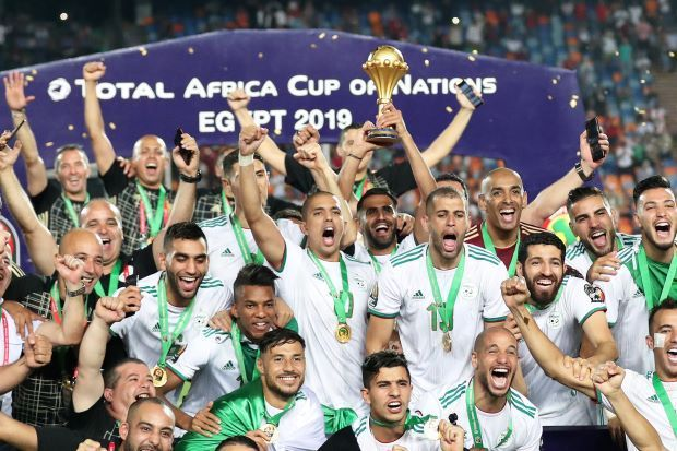 Algeria won their first Nations Cup in 29 years