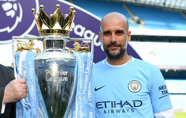Guardiola won the EPL title with Manchester City once again