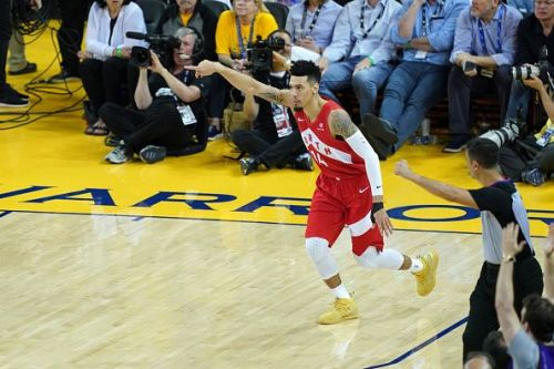 Danny Green played a key role in the Toronto Raptors' winning season