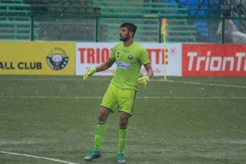 Bilal Khan kept nine clean sheets for Real Kashmir FC in the 2018-19 I-League