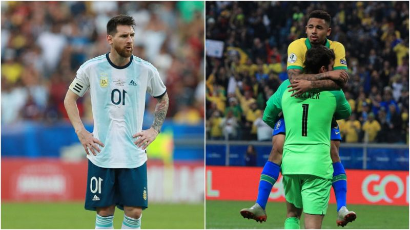 Brazil v Argentina: Holy water and the Hand of God - dramatic matches from an iconic rivalry