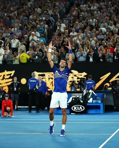 Djokovic overcomes Nadal in straight sets to win record 7th Australian Open