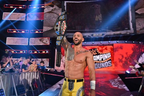 The high flyer is already doing well as the WWE United States Champion?