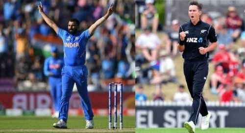 shami and Boult picked up impressive hat-tricks in this World Cup