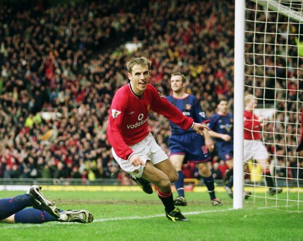 Phil Neville achieved success at Manchester United with a winning mentality